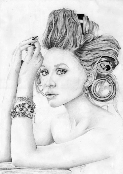 Ashley Olsen by sylwia1919